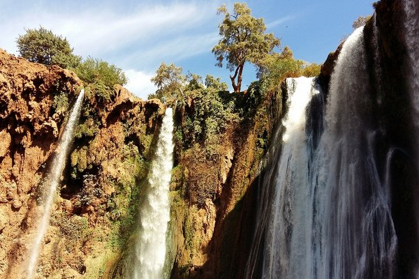 Day Trip from marrakech to ouzoud-waterfalls
